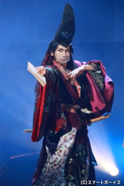 後鳥羽上皇役の松田岳さん