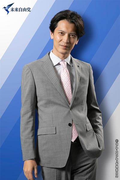 刈安健司役の窪寺昭さん
