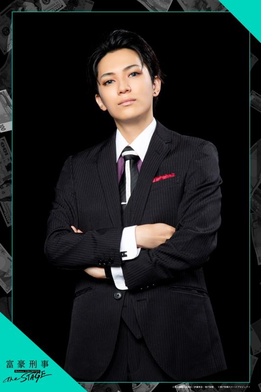 糸川耀士郎さんが扮する、神戸大助のキャラクタービジュアル