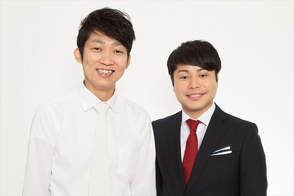 石田明さん(左)