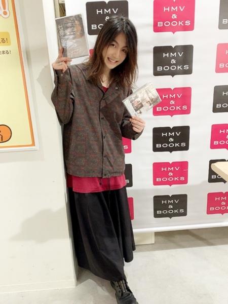 1st DVD『七変く化』(しちへんくげ)発売記念イベントに登場した久下恭平さん