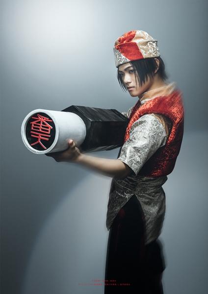 殷郊役の長江崚行さん