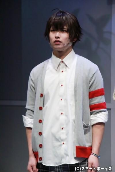 陀宰メイ役の萩尾圭志さん