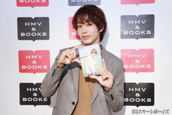 1stDVD「出会い旅」をリリースした近藤頌利さん