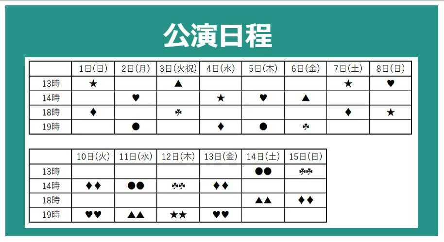 5yers schedule