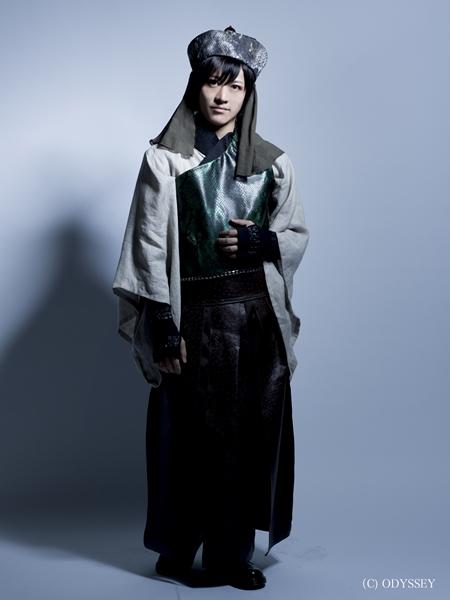 ブラックブラッド / レスター(LESTER)役の服部武雄さん