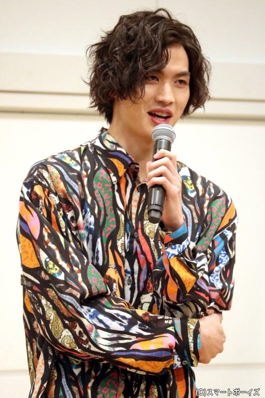 川上将大さんのカレンダー発売記念イベント、まずは第1部をプレイバック!