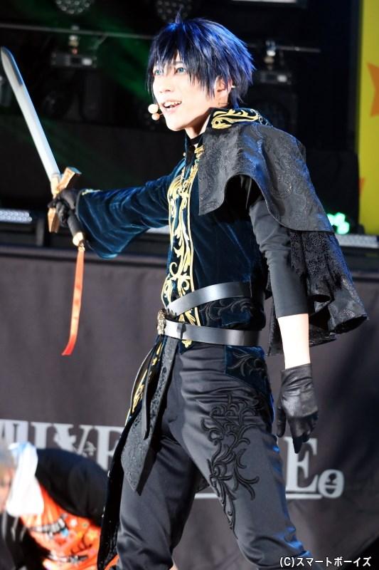 八重樫剣介役の石川 翔さん