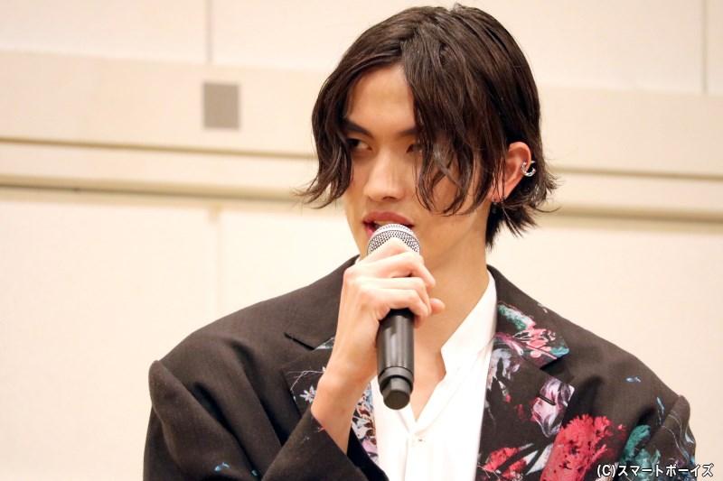 イベントの主役・川上将大(かわかみ しょうた)さん