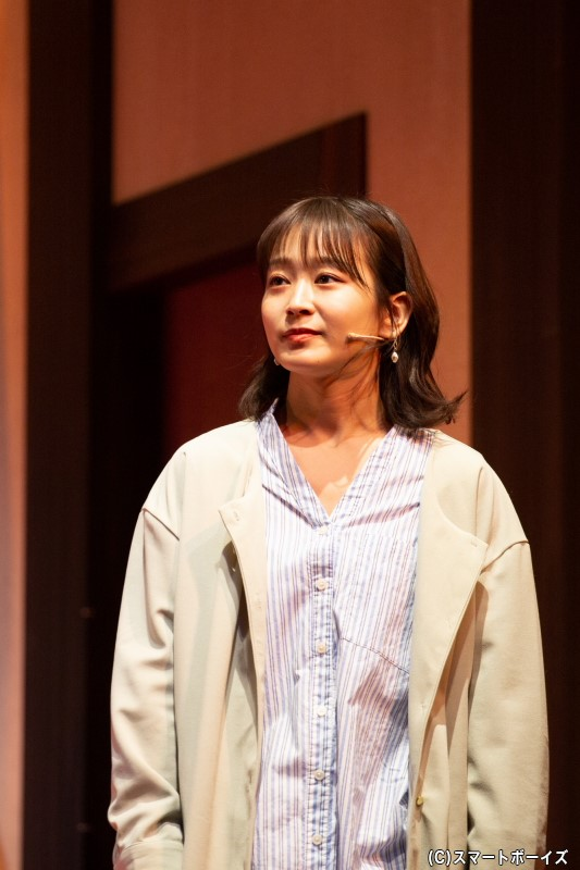 キャサリン役、太田奈緒-