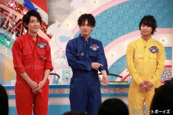 レッド太田さん&ブルー小早川さん&イエロー谷水さんという初代水曜メンバーカラーが復活!