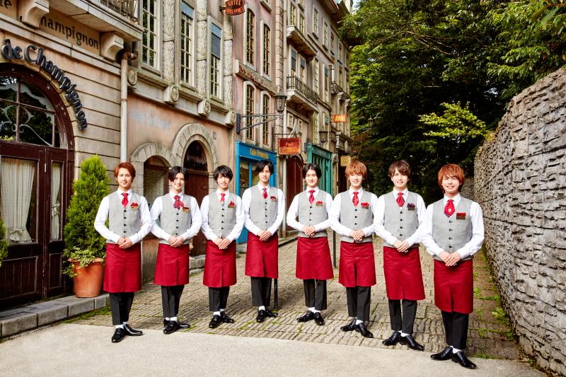 Candy Boy (左から)宮城光輝さん、前田大翔さん、奥谷知弘さん、安孫子宏輔さん、川島寛隆さん、堀 海登さん、山本大智さん、福留 瞬さん