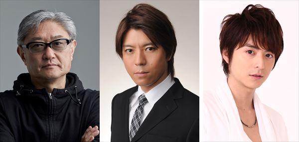 (左から)堤幸彦さん、上川隆也さん、小池徹平さん 上川隆也さん、小池徹平さんは初共演!