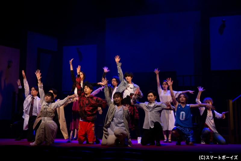 舞台「ハンズアップ」が開幕!誰も信じるな。さあ、今こそ「手を挙げろ」――