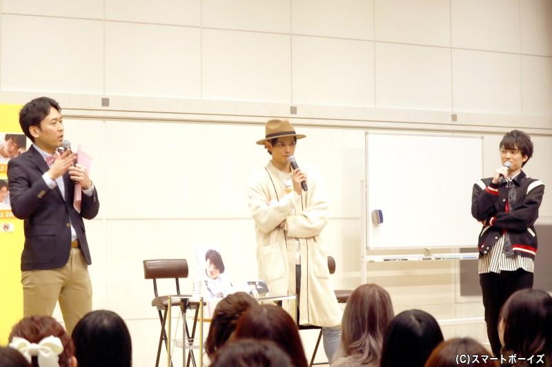 第2部は卓上カレンダーから、大薮さん&前田さんがファン投票でのベスト3を予想するも……