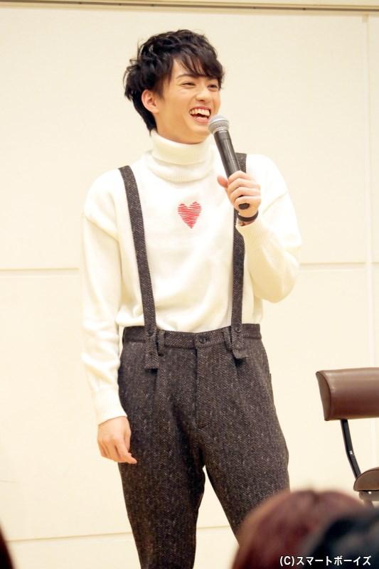 明るい笑顔はもちろん、芝居への情熱も見せてくれる第3部となりました