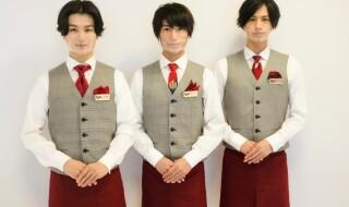 (左から)Candy Boyの川島寛隆さん、奥谷知弘さん、安孫子宏輔さんが登場!