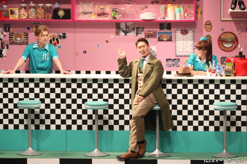 店番を務めるノアやキャンディの元に、ある計画を企てるジョシュアが現れる