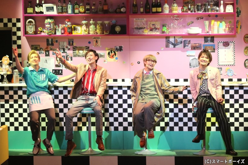 50s~70sの洋楽&ダンスが彩る、新感覚シチュエーション・コメディー『Oh My Diner』が開幕!