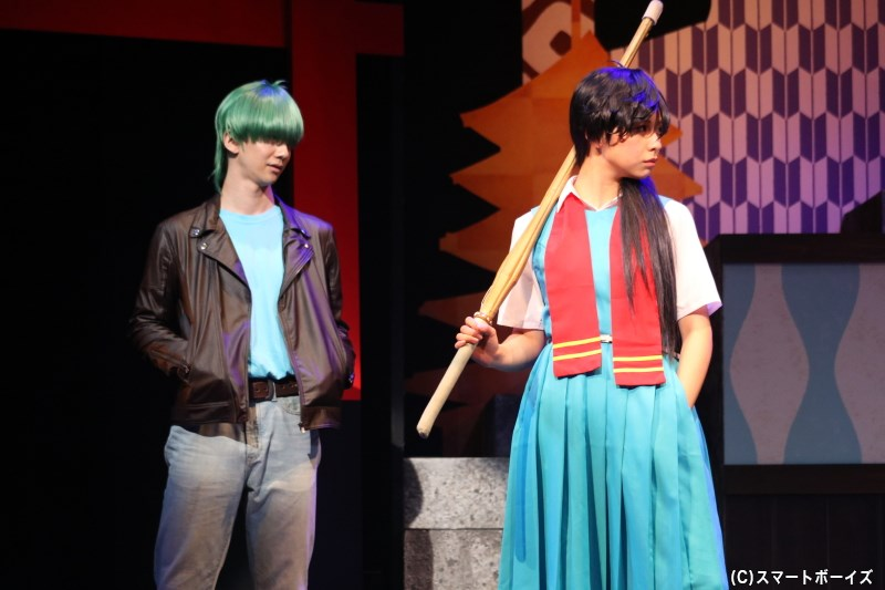 番長集団「番組」の似蛭田 妖、スケ番「御女組」の天野邪子も参戦します