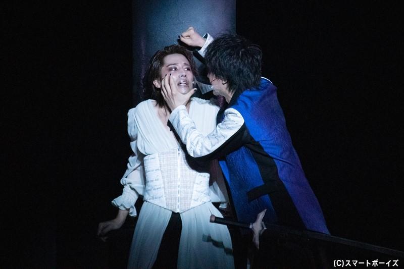 ハムレットは復讐に巻き込まぬよう、愛するオフィーリアを突き放す……