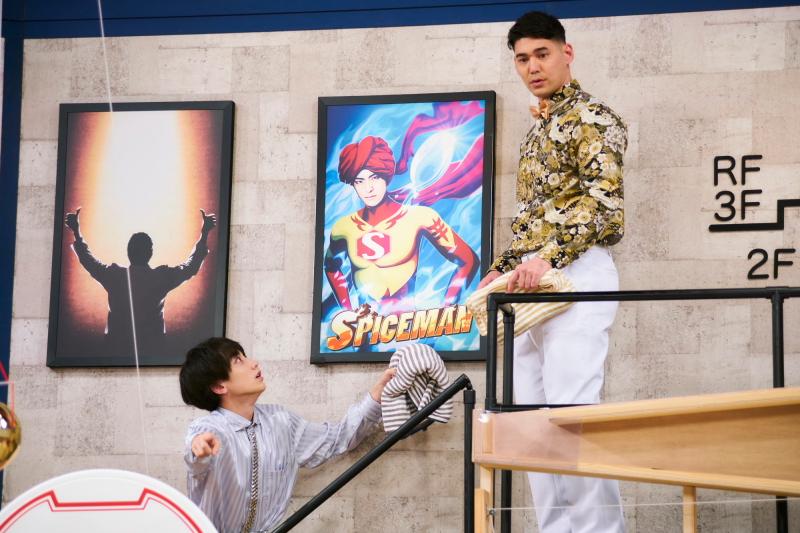 『テレビ演劇 サクセス荘3』第1回場面写真より