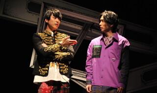 (左から)上田悠介さん、校條拳太朗さん