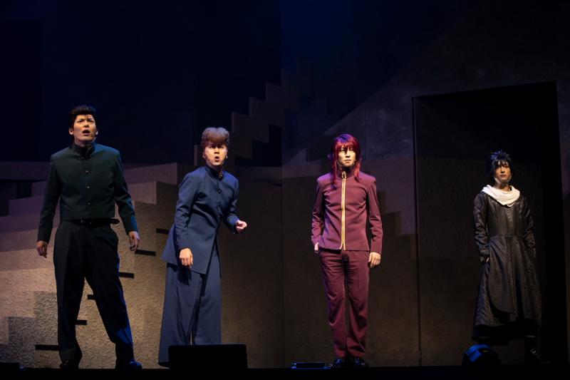 舞台『幽☆遊☆白書』其の弐が開幕、原作でもお馴染みの強敵・戸愚呂兄弟がついに登場!