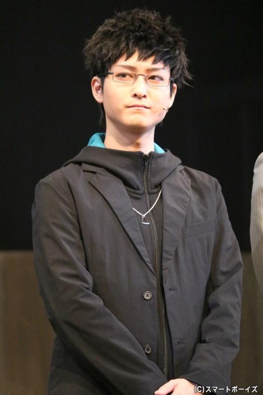 成山誓吾役 前田誠二さん