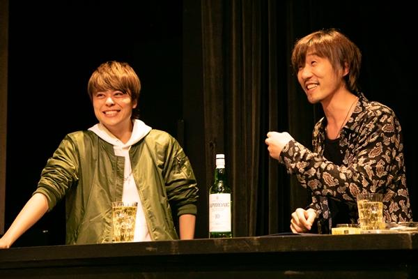 (左)永松文太さん (右)宮下貴浩さん