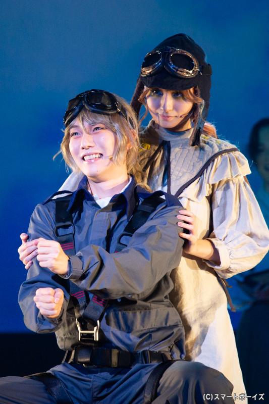ファビアン役 櫻井圭登さん(左)