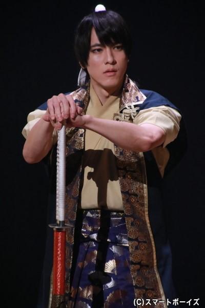 佐々木小次郎役の松島庄汰さん