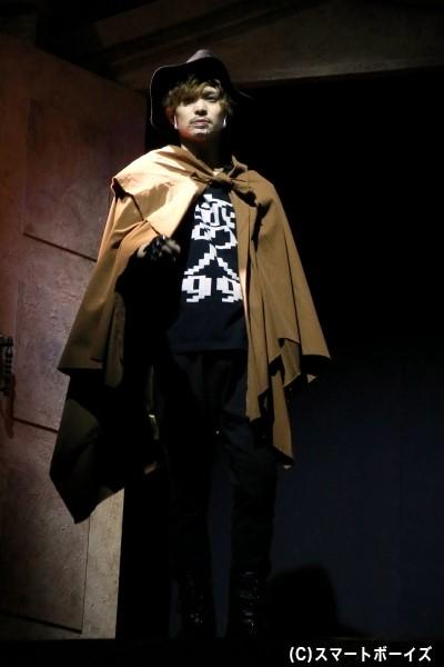 旅の人99役の川隅美慎さん