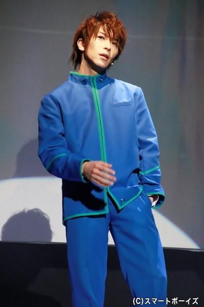 シンチ役の田中尚輝さん