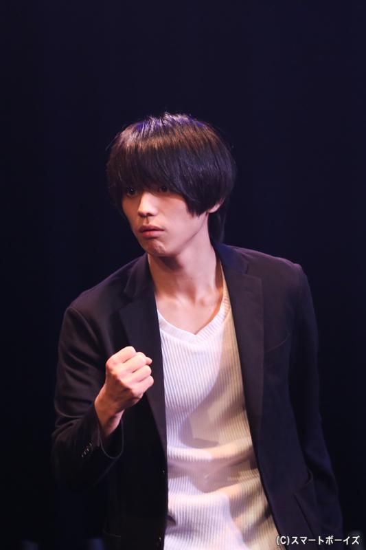 松浦(秀吉)役:竹中凌平(ドリーヴス)さん