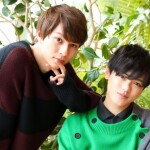 (写真左から)斎 鷹雄役の中山優貴さん、宮嶋あさひ役の長江崚行さん