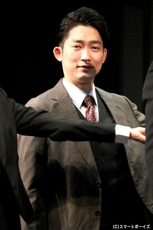 熊田留吉刑事役の石田 明さん