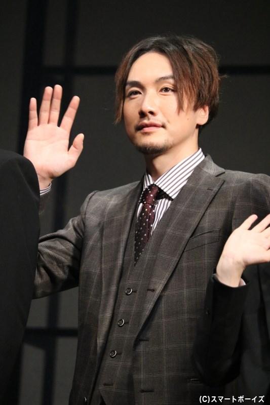 熊田留吉刑事役の細貝 圭さん