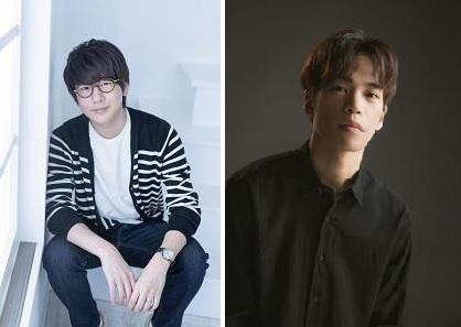 左:花江夏樹さん 右:小野賢章さん