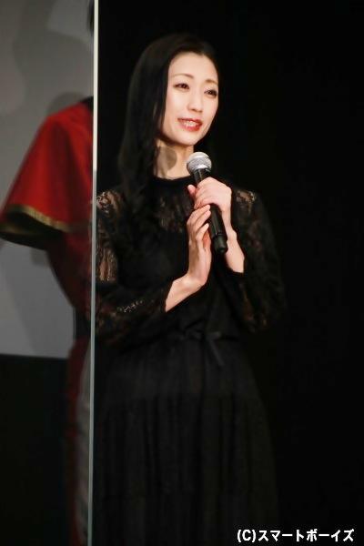 ミンジョ役の壇蜜さん