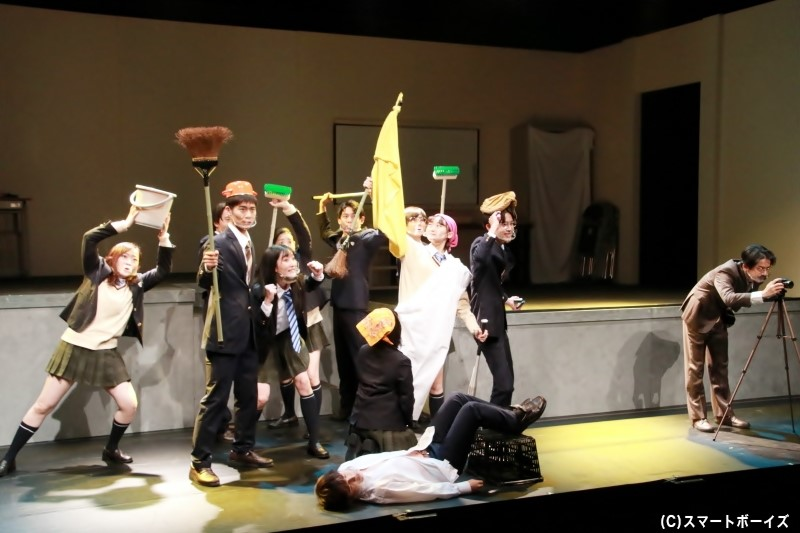 劇中には「撮影タイム」が設けられているシーンも!