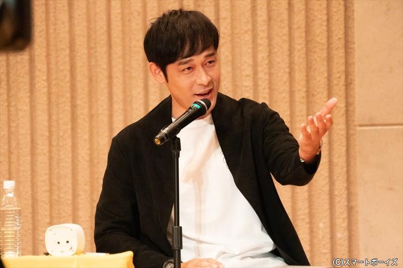 MCの俳優・和泉宗兵さん