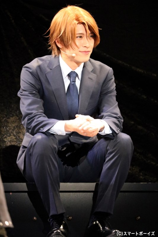 若月日向役の川井雅弘さん