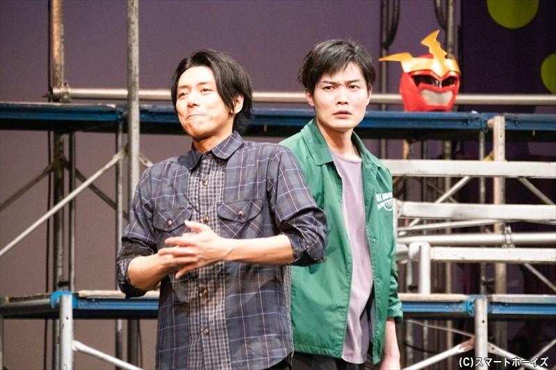 富田さん演じるしば秀輝は、この作品の戦闘員A役を最後に俳優を引退する……