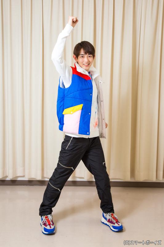 駒木根さん演じる五色田介人の口癖は「全力全開!」