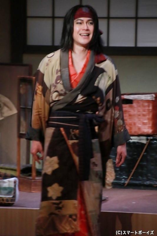 高井鴻山役の平野良さん