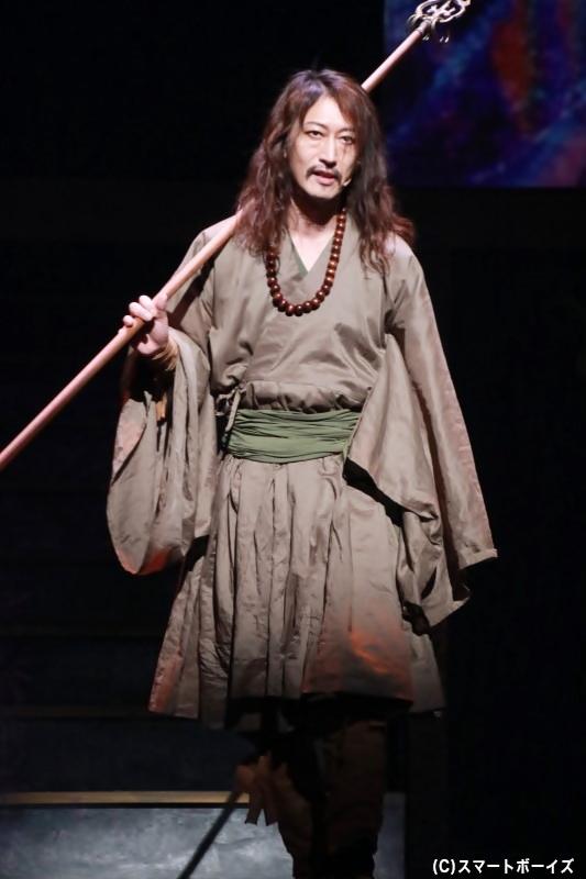 デンベイ役の萩野崇さん