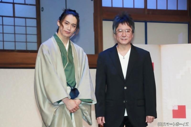 前川さんと錦織さんによる貴重な2ショット