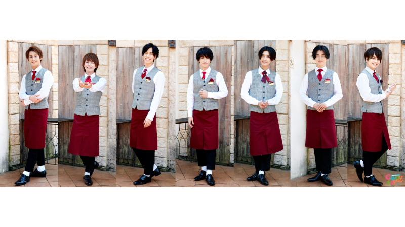 Candy Boyメンバー (左から)宮城光輝さん、福留 瞬さん、安孫子宏輔さん、奥谷知弘さん、前田大翔さん、川島寛隆さん、山本大智さん