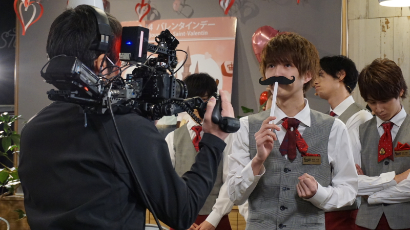 『Candy Boy バレンタインデー 2021~チョコレート色のSweet Sweet Day~』撮影風景より